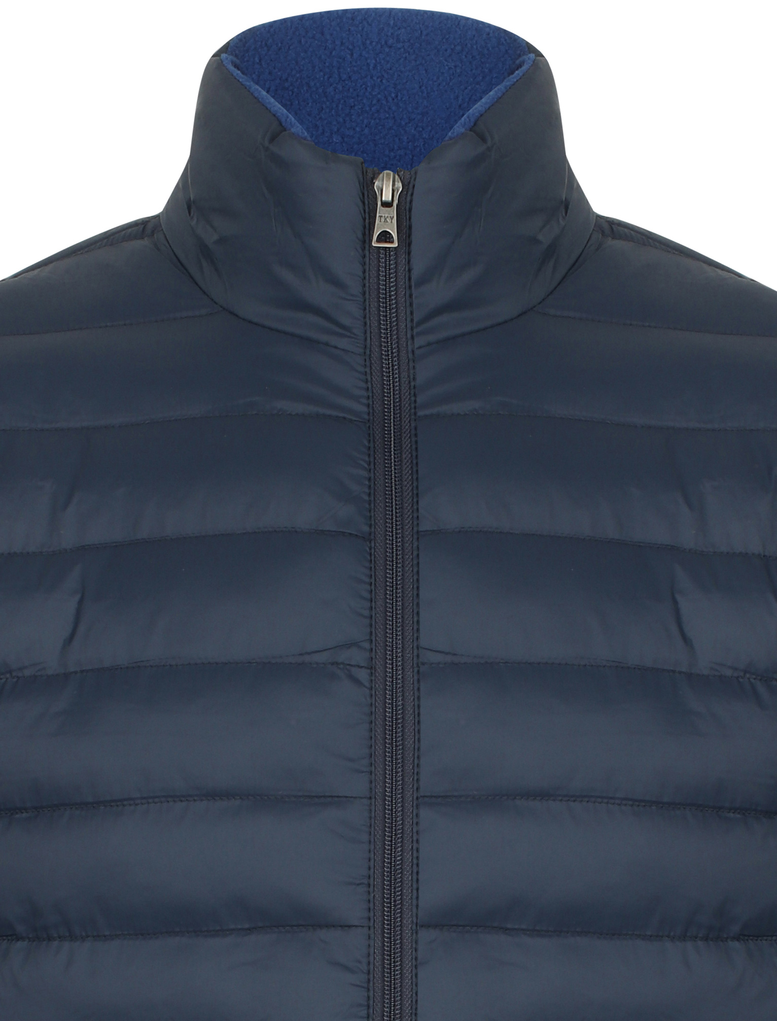 Tokyo-Laundry-Men-039-s-Bakman-Plain-Quilted-Padded-Puffer-Bubble-Jacket thumbnail 11