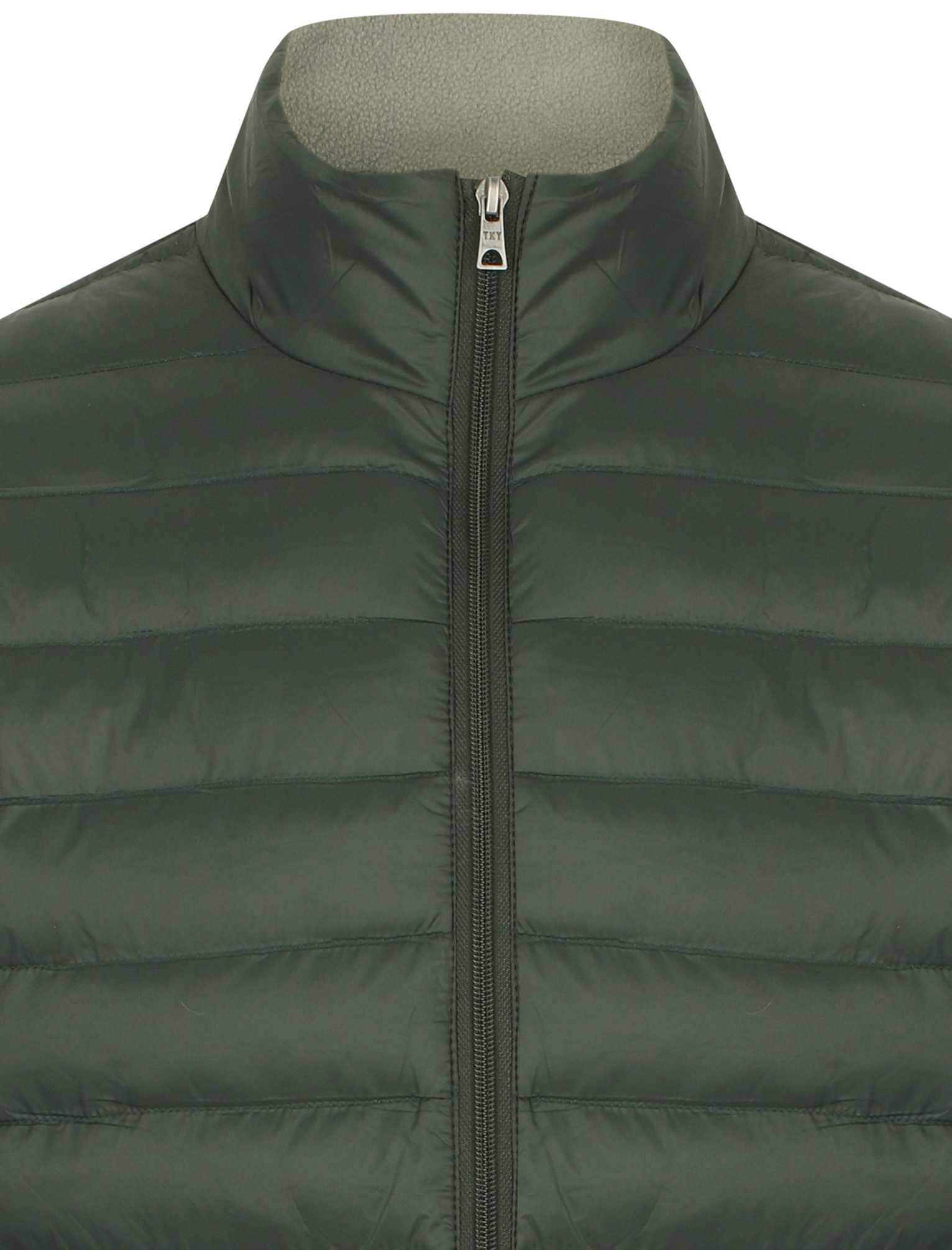 Tokyo-Laundry-Men-039-s-Bakman-Plain-Quilted-Padded-Puffer-Bubble-Jacket thumbnail 15