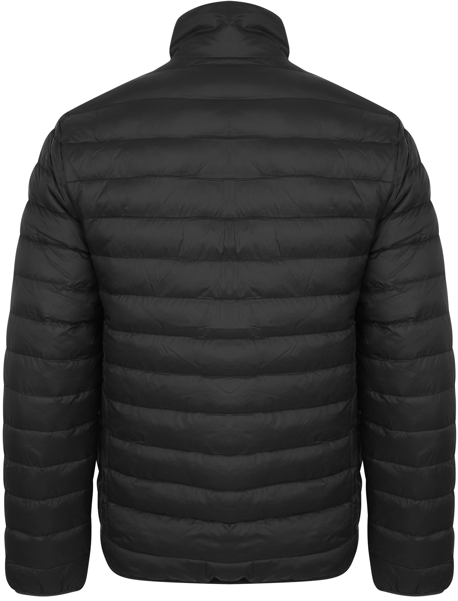 Tokyo-Laundry-Men-039-s-Bakman-Plain-Quilted-Padded-Puffer-Bubble-Jacket thumbnail 9