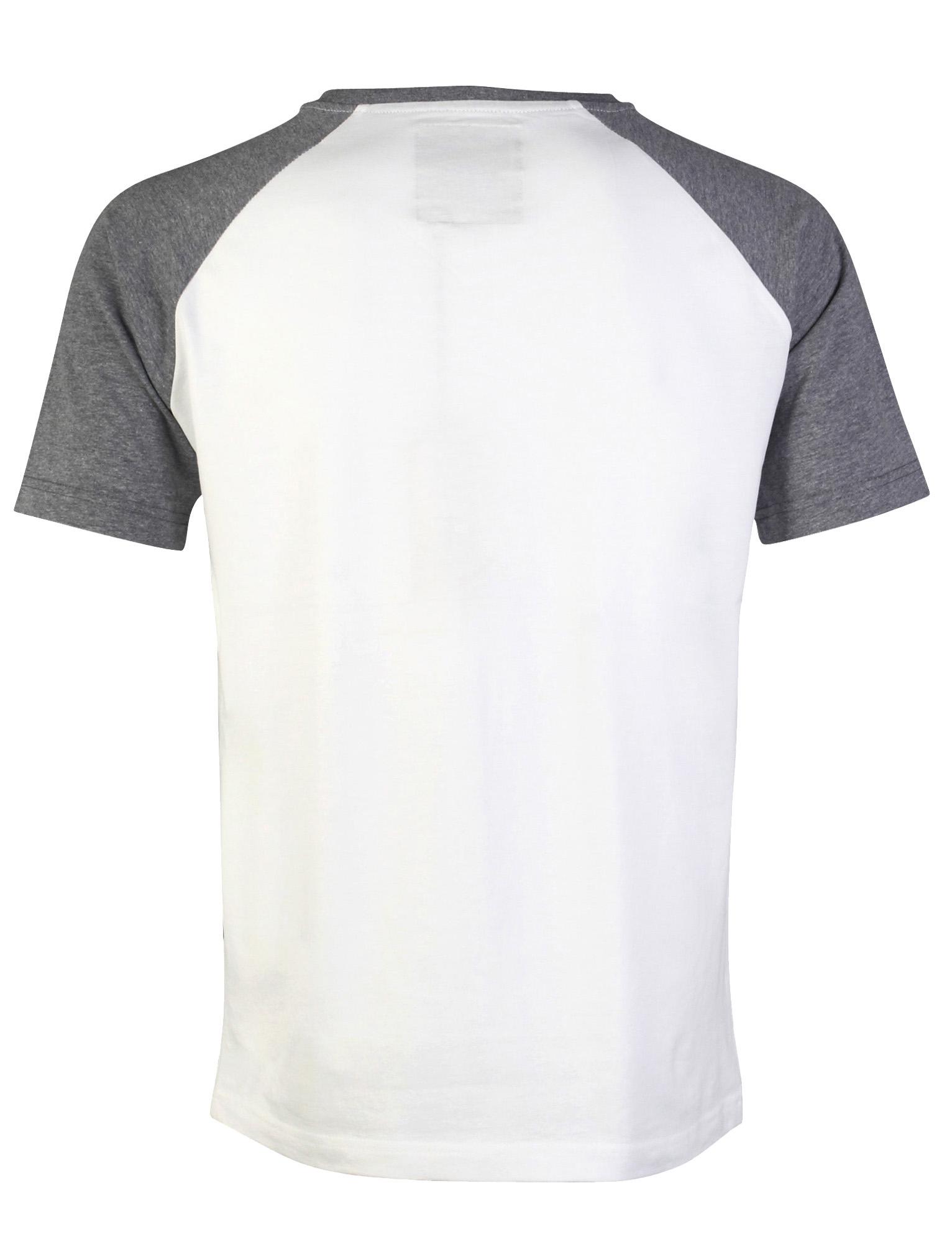 Nouveau Homme Dissident Richard col V à manches courtes coton Contraste T-shirt Taille S-M