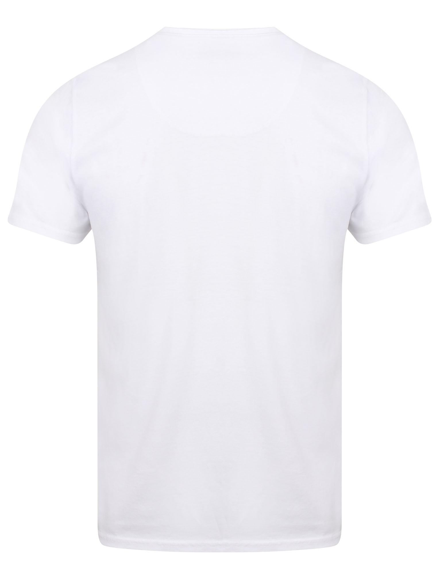 POLO-da-Uomo-Tokyo-Laundry-ZAC-Girocollo-Cotone-Rich-Leggero-T-Shirt-Taglia-S-XL miniatura 5
