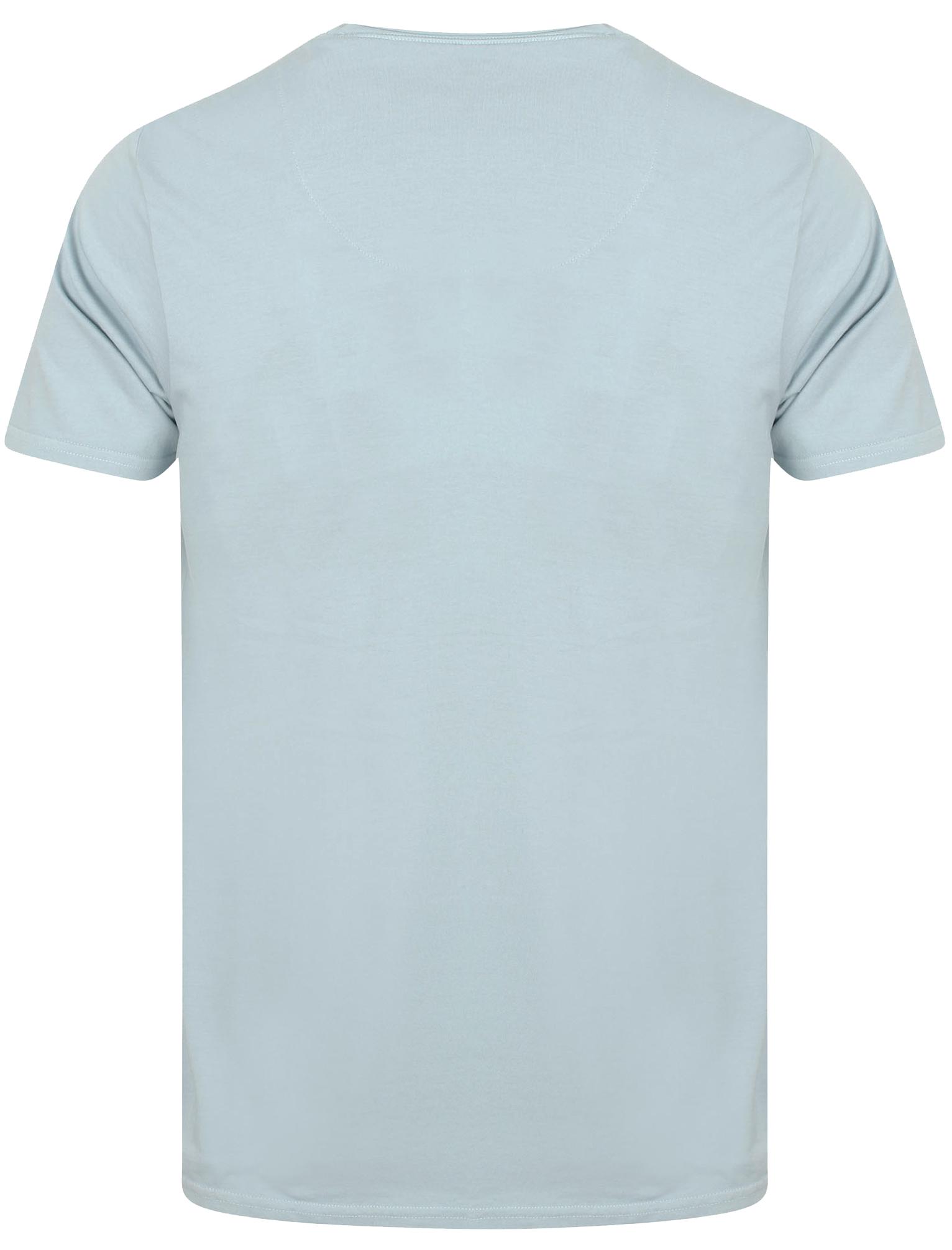 POLO-da-Uomo-Tokyo-Laundry-ZAC-Girocollo-Cotone-Rich-Leggero-T-Shirt-Taglia-S-XL miniatura 13