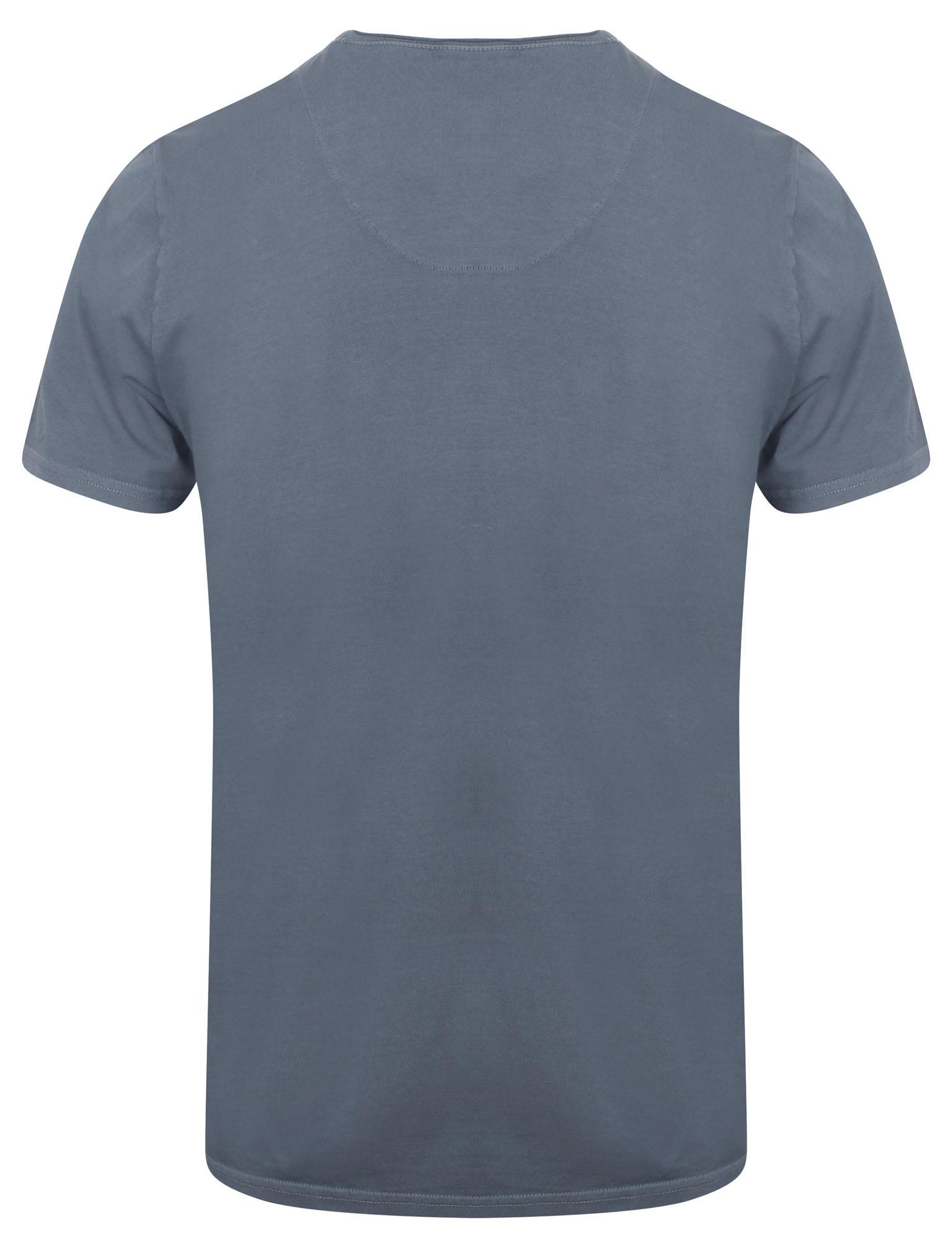 POLO-da-Uomo-Tokyo-Laundry-ZAC-Girocollo-Cotone-Rich-Leggero-T-Shirt-Taglia-S-XL miniatura 9