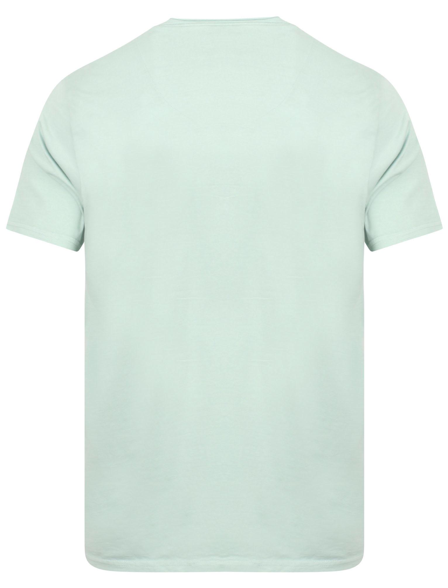 POLO-da-Uomo-Tokyo-Laundry-ZAC-Girocollo-Cotone-Rich-Leggero-T-Shirt-Taglia-S-XL miniatura 3