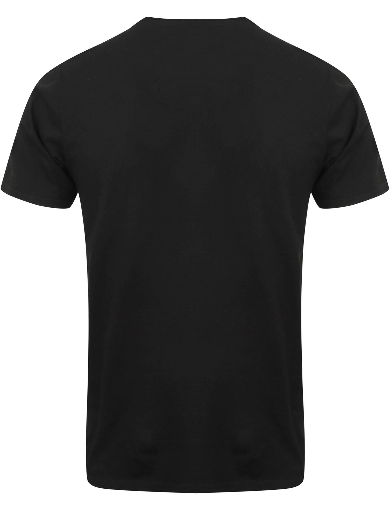 POLO-da-Uomo-Tokyo-Laundry-ZAC-Girocollo-Cotone-Rich-Leggero-T-Shirt-Taglia-S-XL miniatura 7