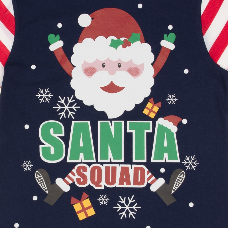 c85c55601 Santa Squad PJs Matching Family Christmas Elf Pyjamas Mum Dad Baby ...