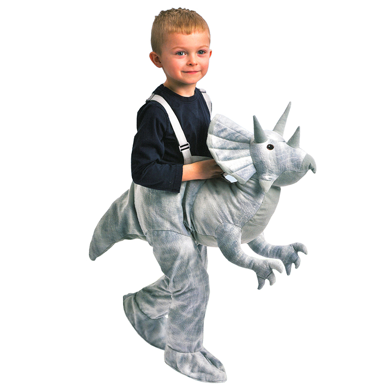 Kids-Dress-Up-Riding-Costumes-Dinosaur-Horse-Unicorn-  sc 1 st  eBay & Kids Dress Up Riding Costumes Dinosaur Horse Unicorn Ages 3-7 Fancy ...