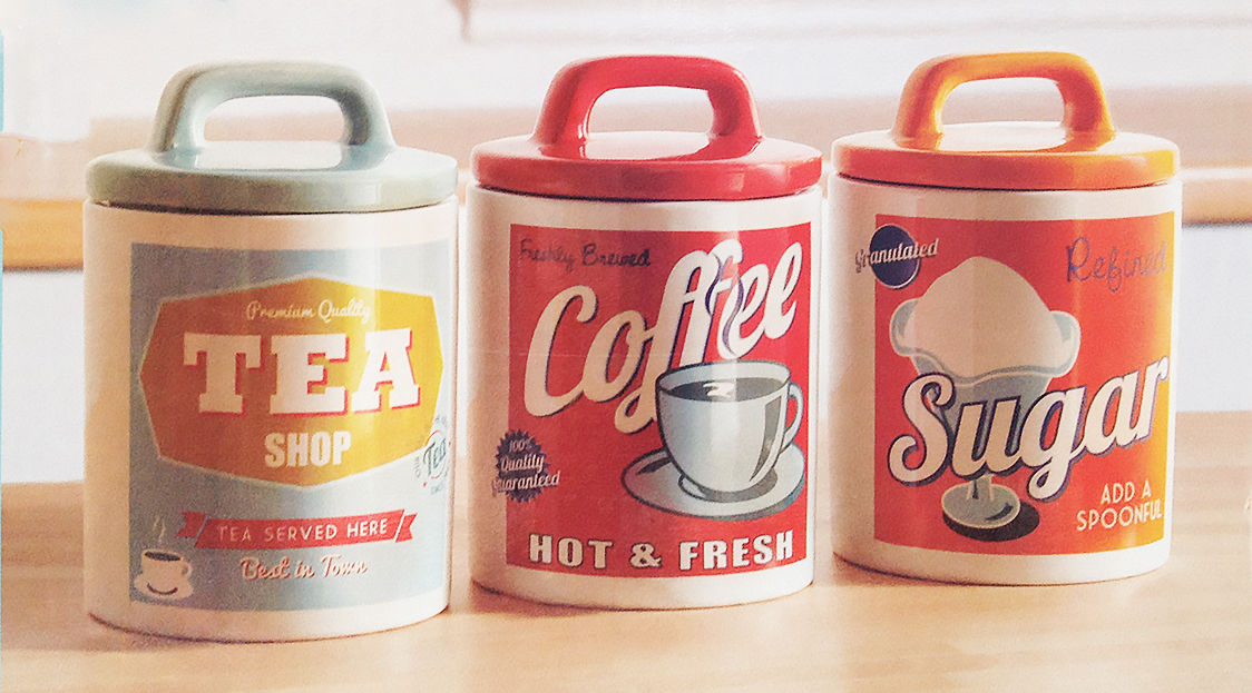 Funky Kitchen Canisters Uk