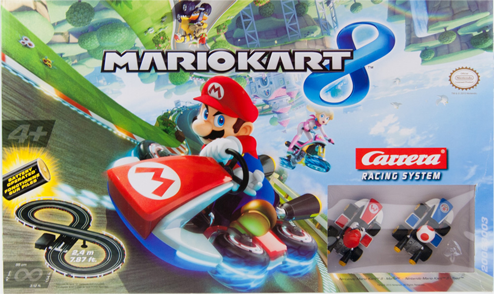 Mario Kart Slot Car Racing
