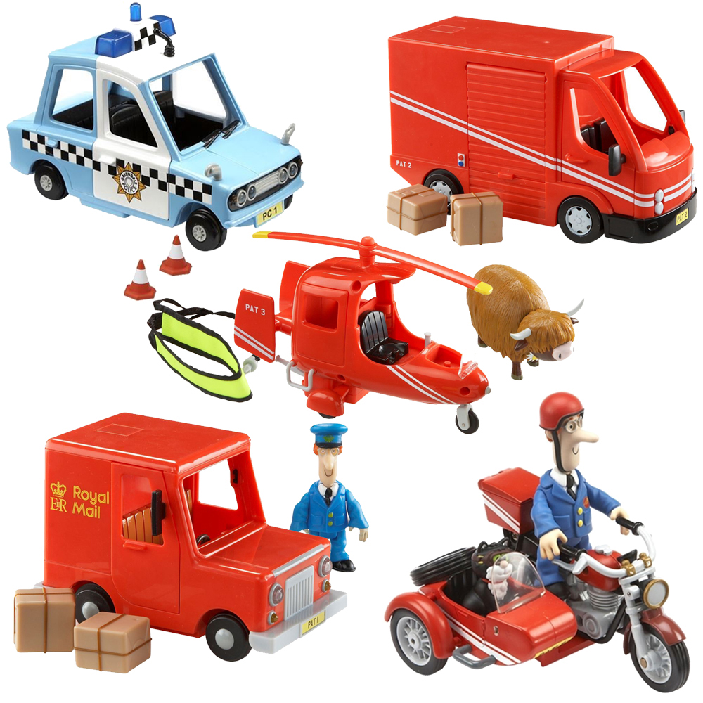 Postman Pat Vehicles Van Jeep Helicopter Motorbike + Accessories & Figures NEW | eBay