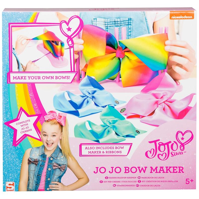 JoJo Siwa Bow Maker Toy Girls Fashion Craft Kit Make Your