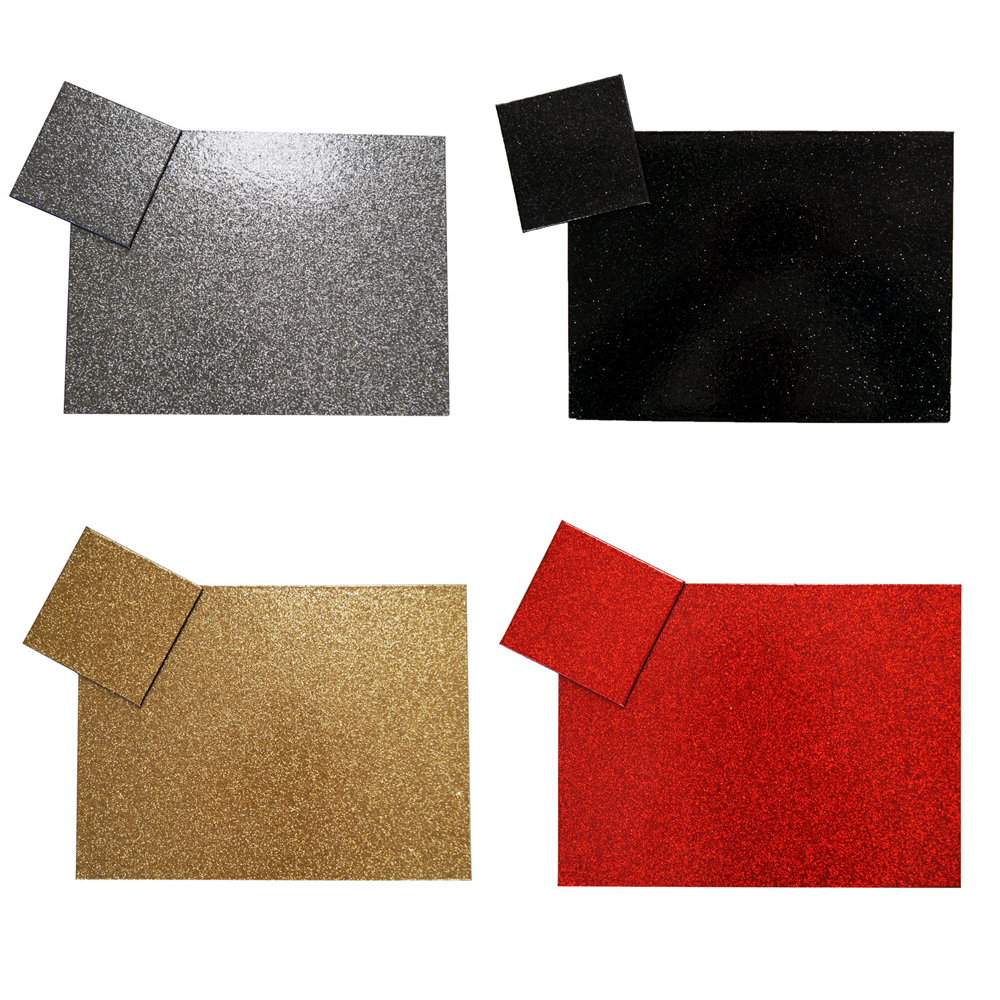 Sparkly Glitter Effect Placemats Amp Coasters Modern