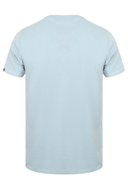 Tokyo-Laundry-Homme-Henryville-T-shirt-a-manches-courtes-leger-haut-a-encolure-ras-du-cou miniature 16