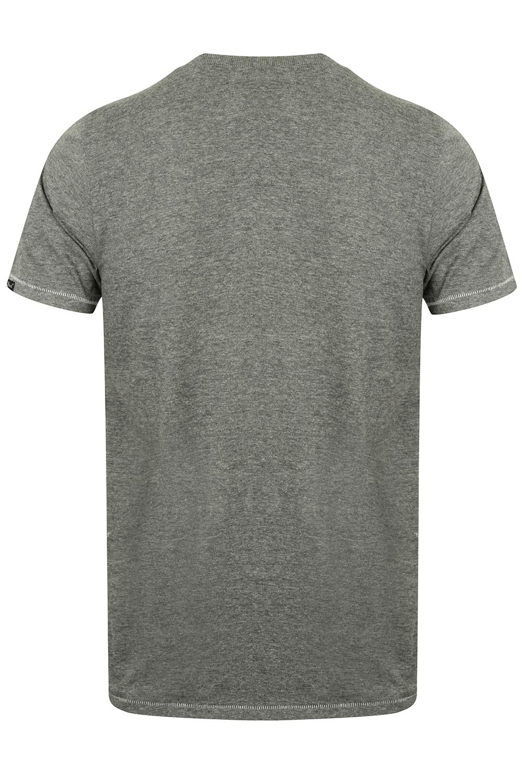 Tokyo-Laundry-Homme-Henryville-T-shirt-a-manches-courtes-leger-haut-a-encolure-ras-du-cou miniature 12
