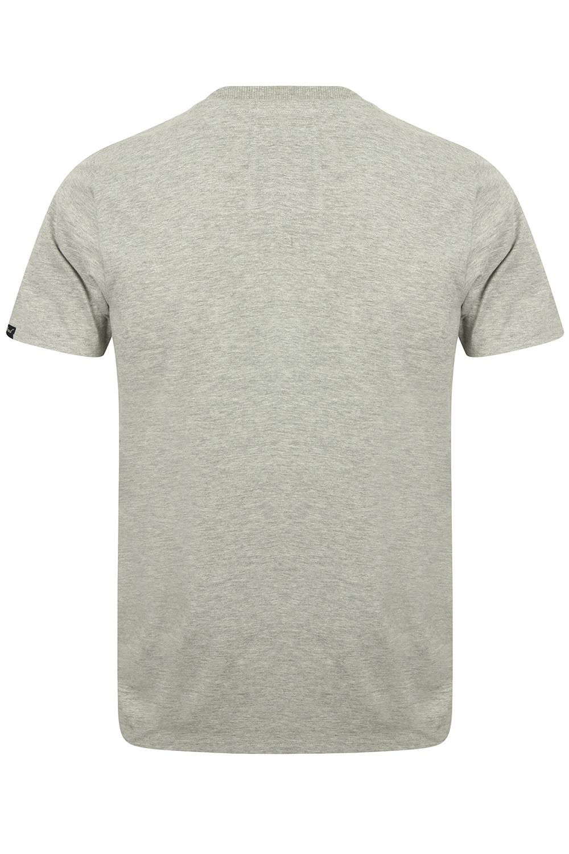 Tokyo-Laundry-Homme-Henryville-T-shirt-a-manches-courtes-leger-haut-a-encolure-ras-du-cou miniature 8