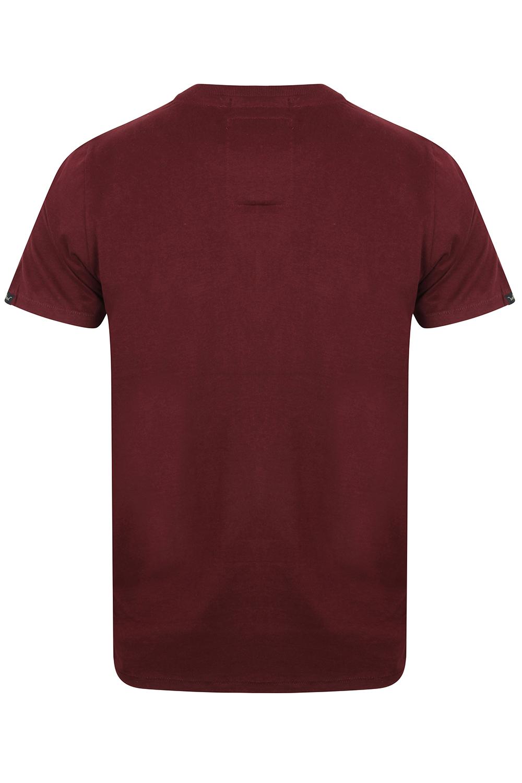 Tokyo-Laundry-Homme-Henryville-T-shirt-a-manches-courtes-leger-haut-a-encolure-ras-du-cou miniature 22