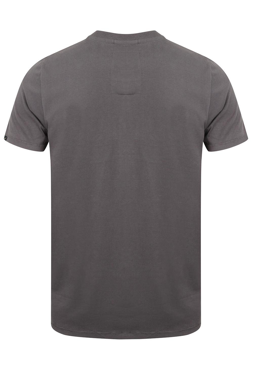 Tokyo-Laundry-Homme-Henryville-T-shirt-a-manches-courtes-leger-haut-a-encolure-ras-du-cou miniature 10