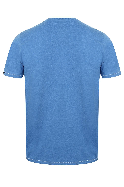Tokyo-Laundry-Homme-Henryville-T-shirt-a-manches-courtes-leger-haut-a-encolure-ras-du-cou miniature 14