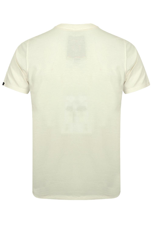 Tokyo-Laundry-Homme-Henryville-T-shirt-a-manches-courtes-leger-haut-a-encolure-ras-du-cou miniature 20