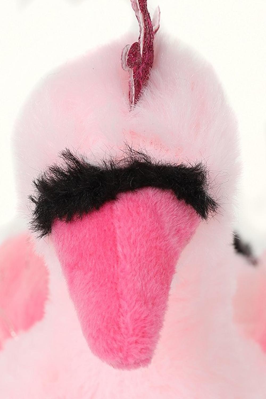 miniatura 5 - Nifty Bambini 3D Novità Swan Pantofole Bambina Peluche Morbido Bird Bootie Indoor Calzature