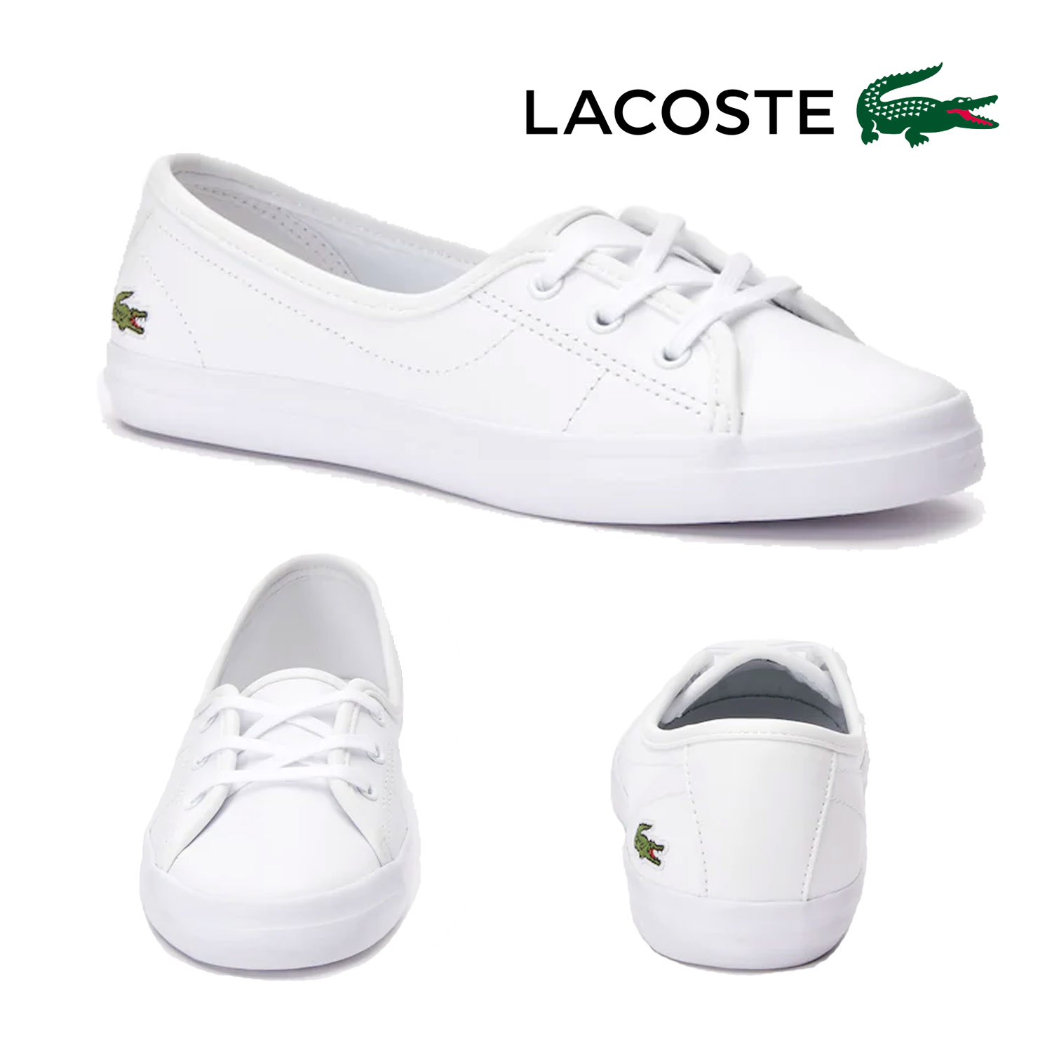 Lacoste Womens Ziane Chunky Leather
