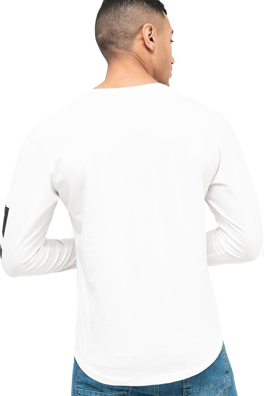 Crosshatch-Mens-Coolana-Designer-T-Shirt-Crew-Neck-Long-Sleeve-Stylish-Tee-Top thumbnail 6