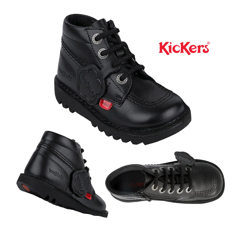 Kickers Infant Unisex Kick Hi Black