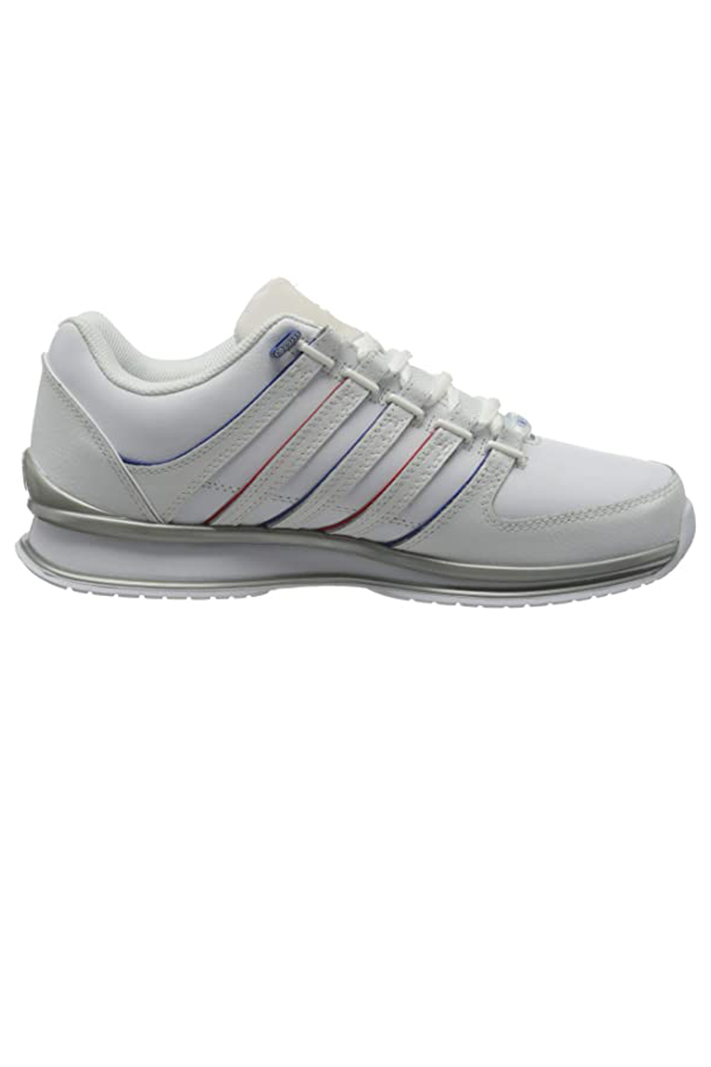 thumbnail 24 - K-Swiss Mens Comfortable Low Top Classic Leather Suede Rinzler Trainers Sneakers