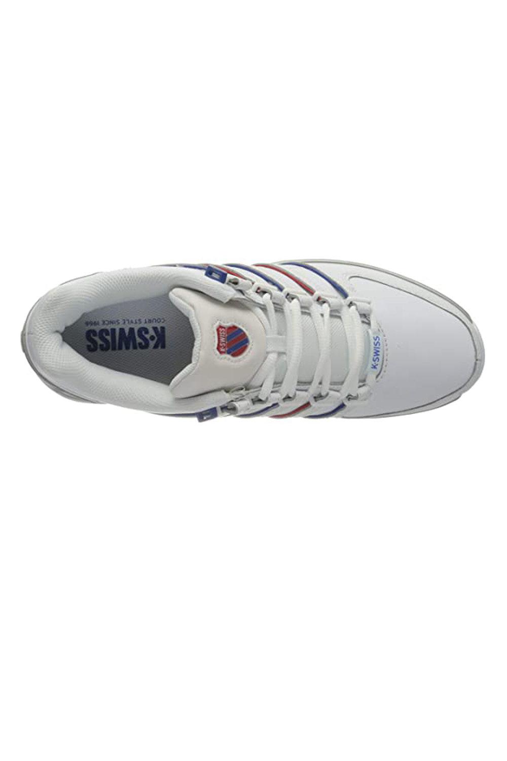 thumbnail 15 - K-Swiss Mens Comfortable Low Top Classic Leather Suede Rinzler Trainers Sneakers