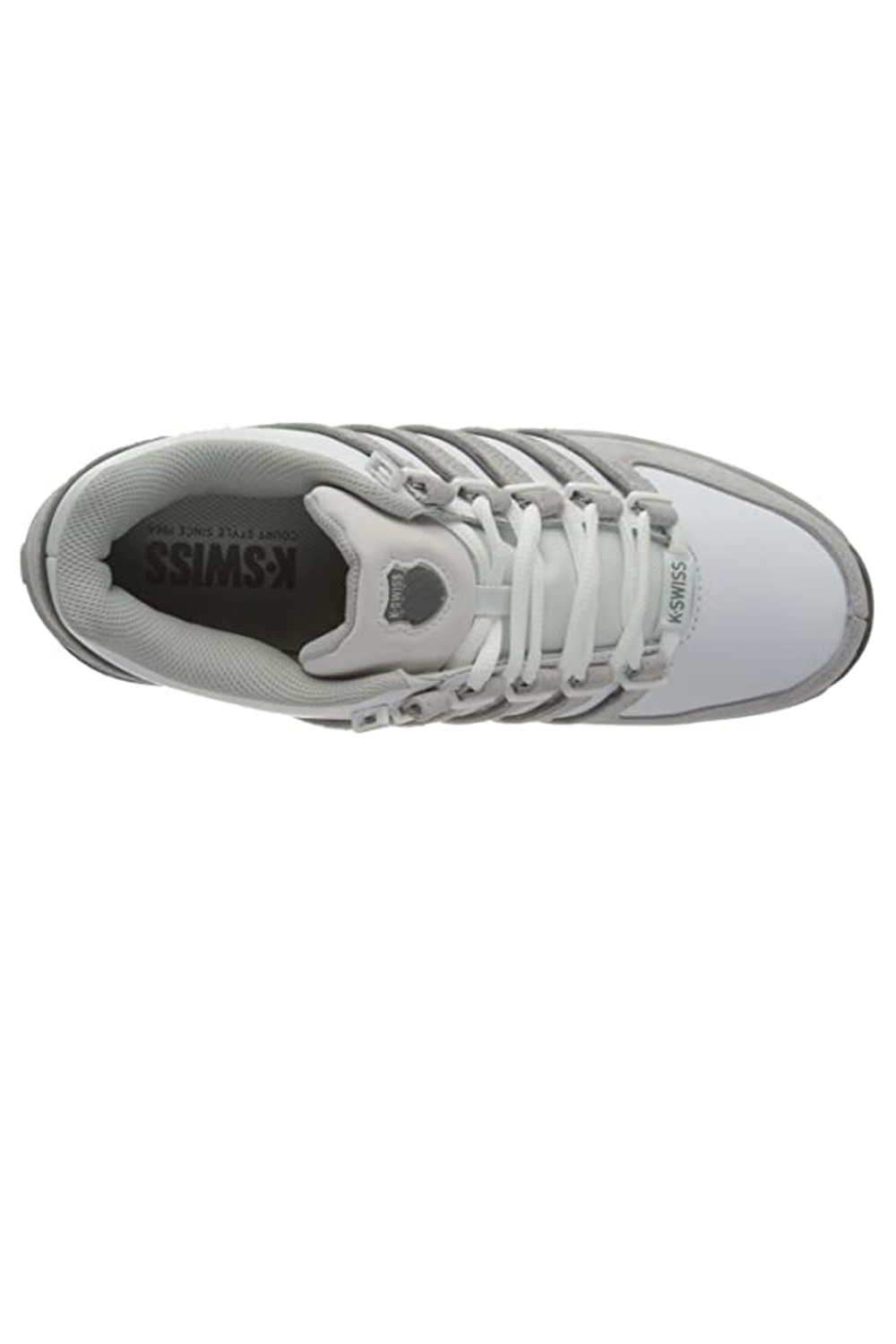 thumbnail 9 - K-Swiss Mens Comfortable Low Top Classic Leather Suede Rinzler Trainers Sneakers