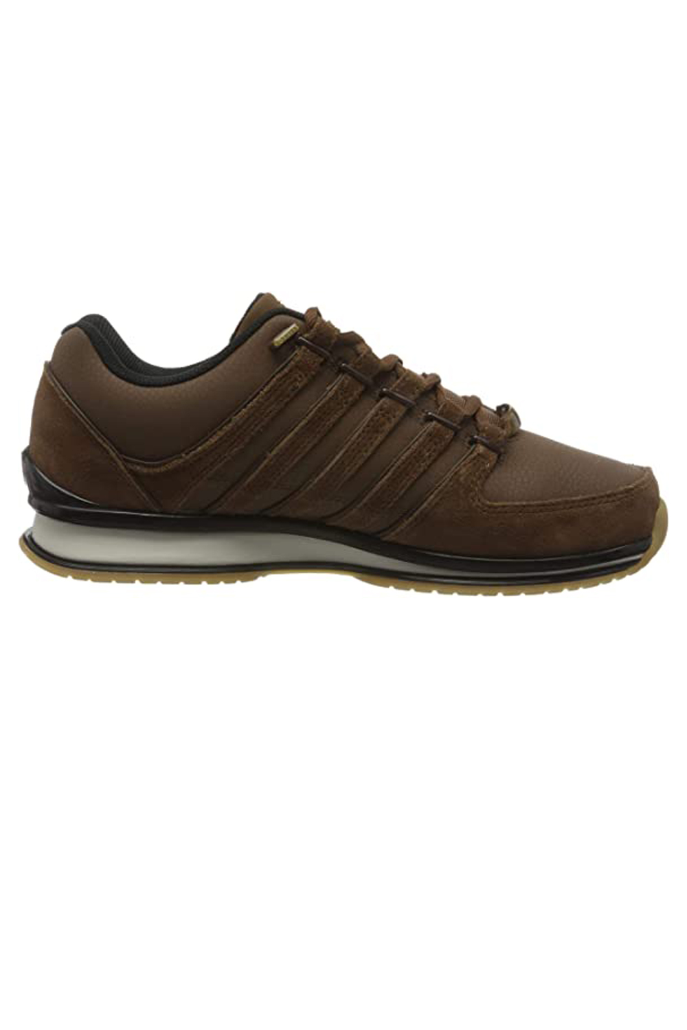 thumbnail 18 - K-Swiss Mens Comfortable Low Top Classic Leather Suede Rinzler Trainers Sneakers
