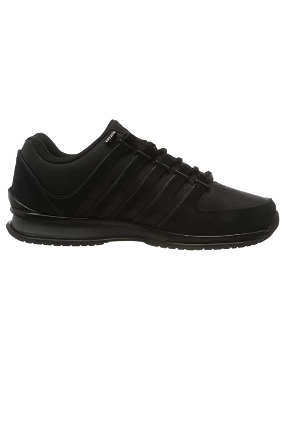 thumbnail 3 - K-Swiss Mens Comfortable Low Top Classic Leather Suede Rinzler Trainers Sneakers