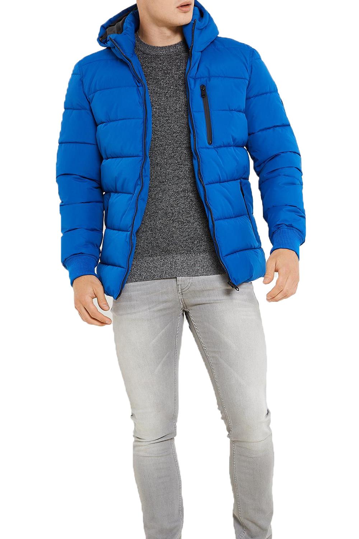 Threadbare Mens Matrix Puffer Jacket New Designer Warm Padded Hooded ... 4d8268ca0c0f