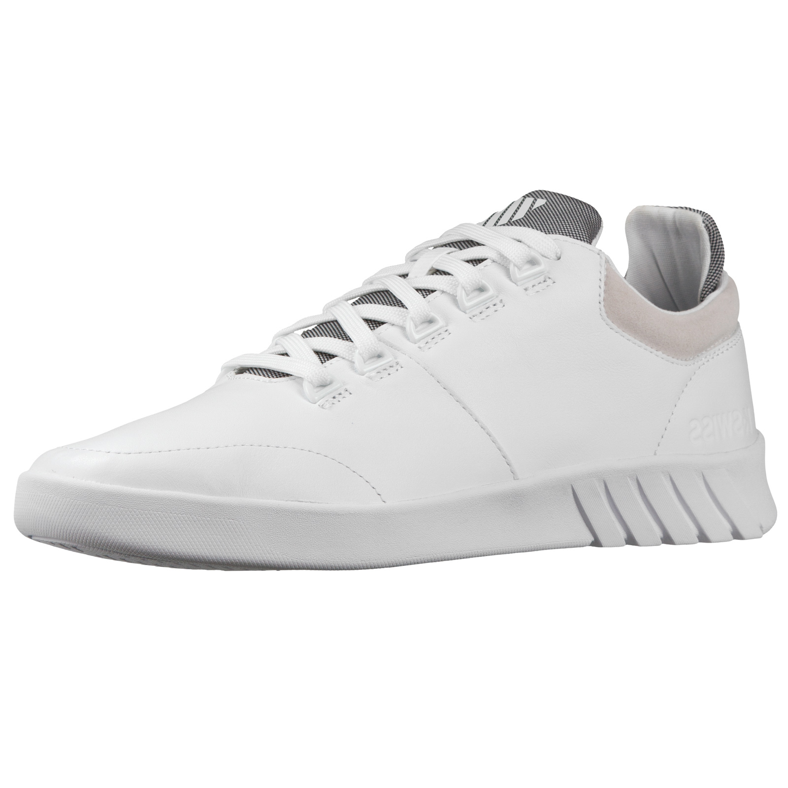 K-Swiss Mens Aero Trainer Premium Designer Ortholite Sole Low Top Sports Shoes