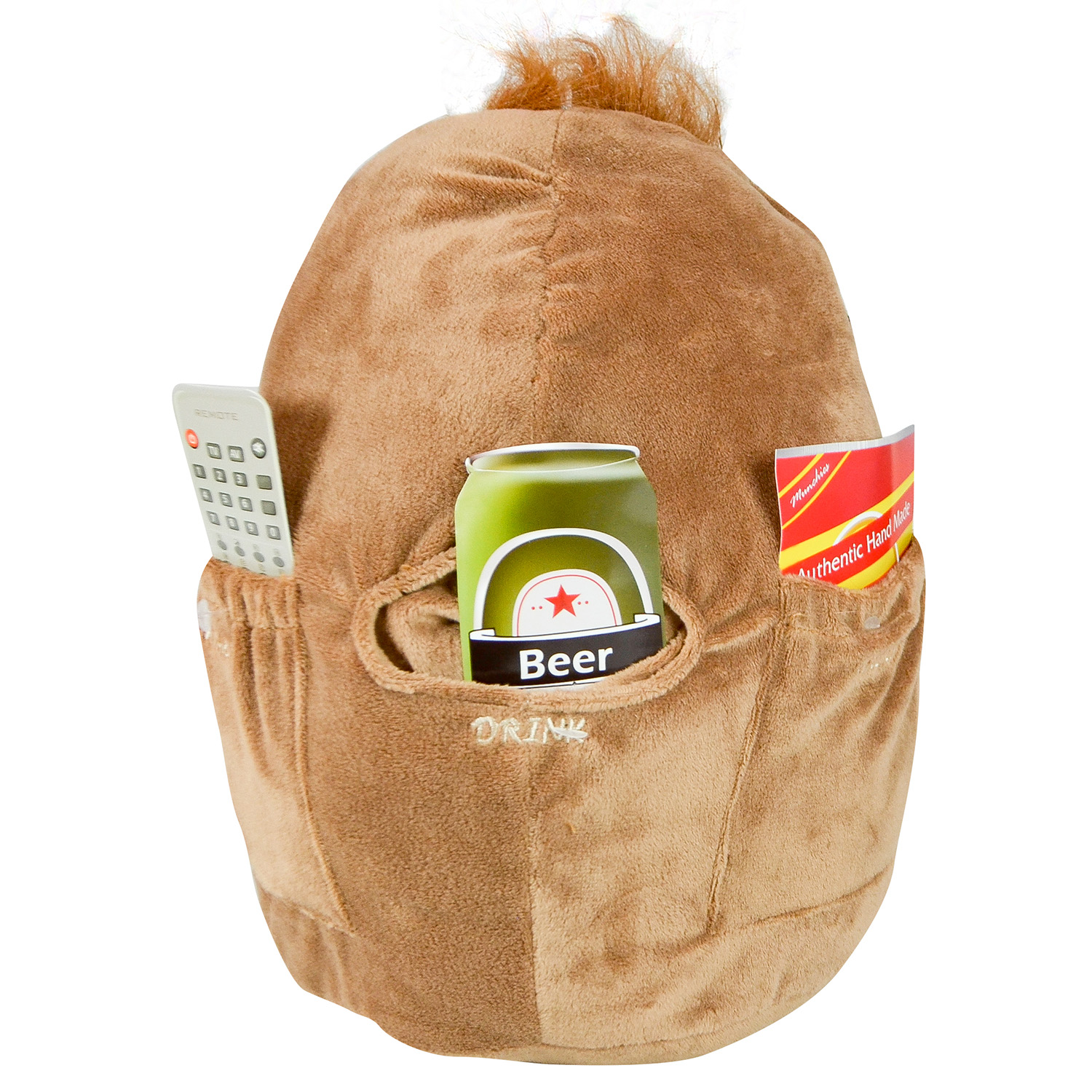 Novelty-Spuddy-Multi-Purpose-Couch-Potato-Remote-Snack-Holder-Pocket-Cushion thumbnail 3