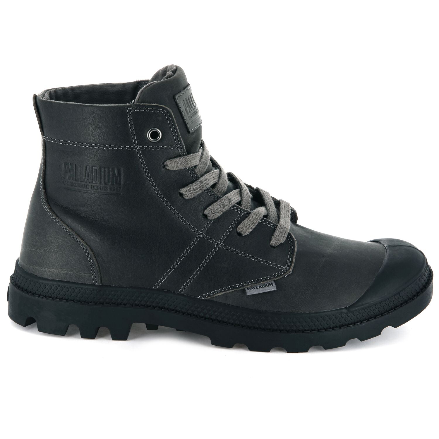 Palladium-Mens-Pallabrousse-Leather-Lace-Up-Boots-Walking-Chukka-Ankle-Shoes thumbnail 8