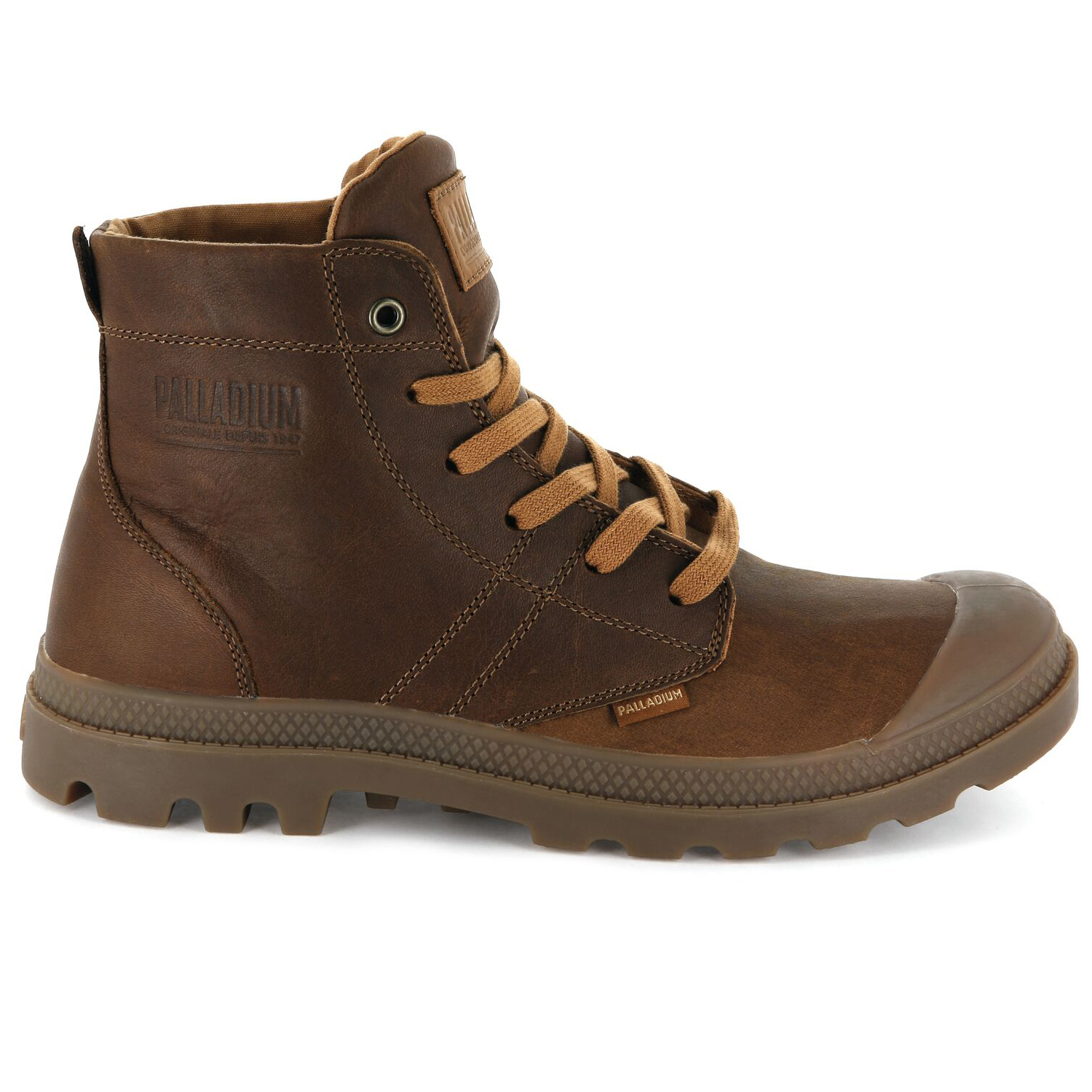 Palladium-Mens-Pallabrousse-Leather-Lace-Up-Boots-Walking-Chukka-Ankle-Shoes thumbnail 13