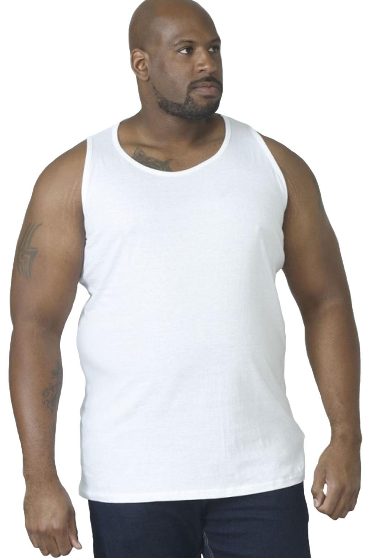 Duke-D555-Mens-Big-Tall-King-Size-Fabio-Muscle-Sleeveless-Sport-Gym-Vest-Top thumbnail 5