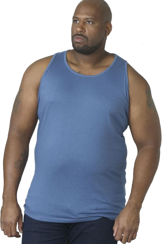 Duke-D555-Mens-Big-Tall-King-Size-Fabio-Muscle-Sleeveless-Sport-Gym-Vest-Top thumbnail 18