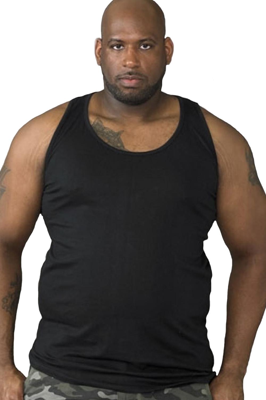 Duke-D555-Mens-Big-Tall-King-Size-Fabio-Muscle-Sleeveless-Sport-Gym-Vest-Top thumbnail 3