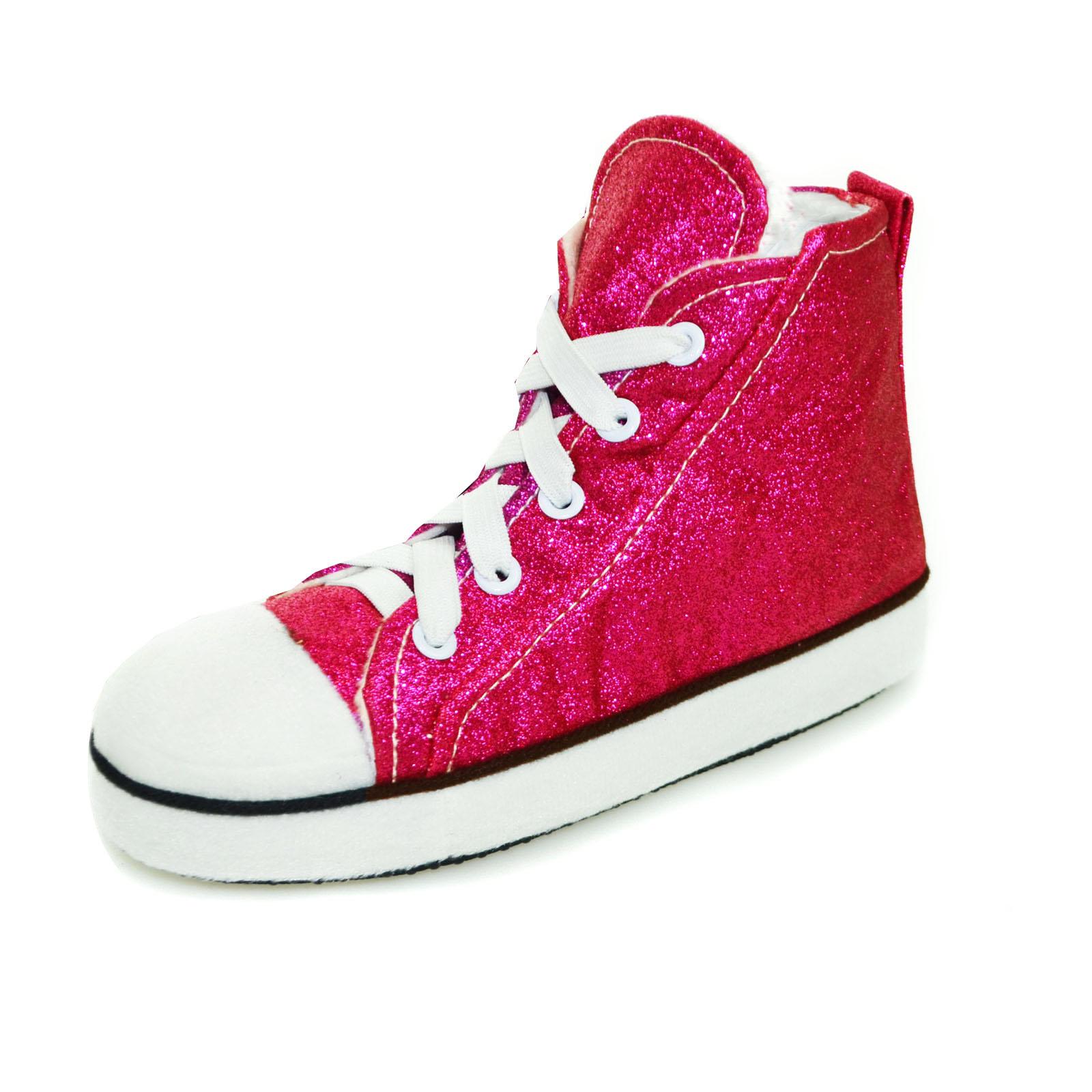 Mens Womens U0026 Kids Runner High Top Slipper Boots Fleece ...