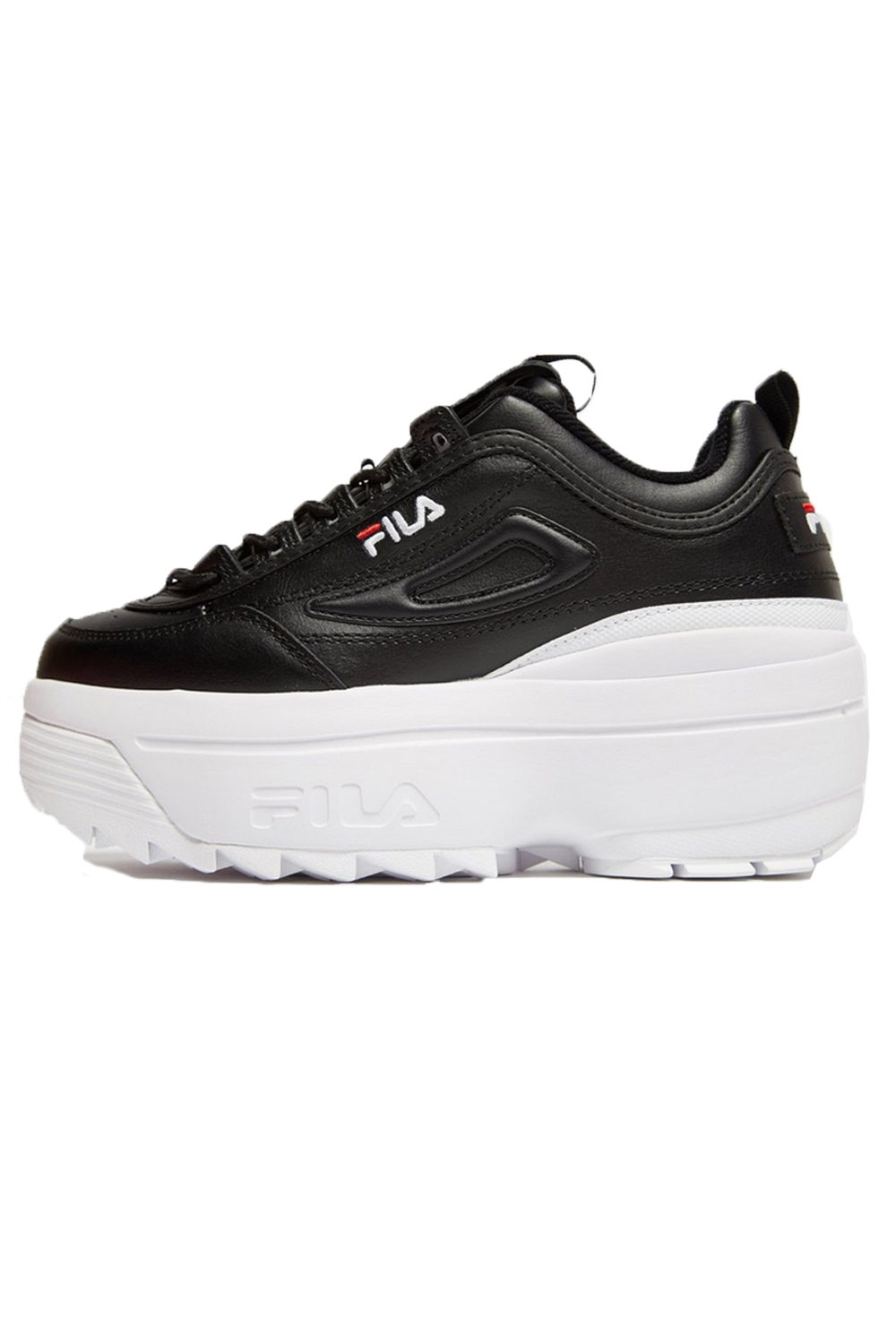 Fila-Disruptor-ll-Wedge-Womens-White-Trainers-Casual-Platform-Chunky-Heel-Shoes thumbnail 9