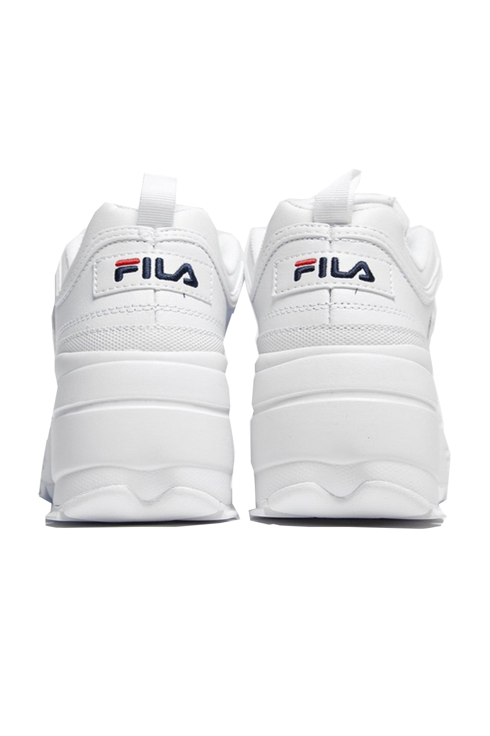 Fila-Disruptor-ll-Wedge-Womens-White-Trainers-Casual-Platform-Chunky-Heel-Shoes thumbnail 5