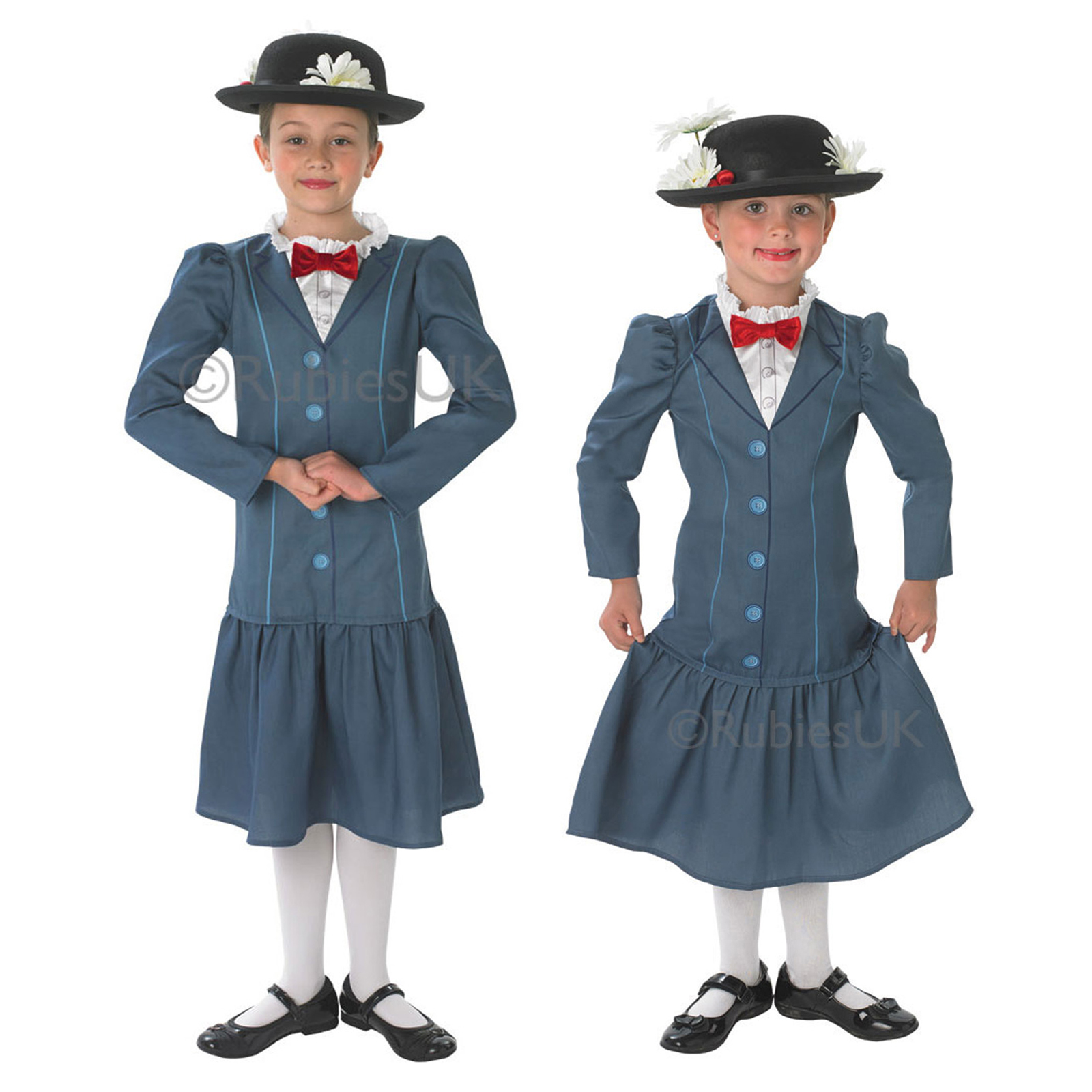 m dchen disney mary poppins rubies neu nanny kinder outfit. Black Bedroom Furniture Sets. Home Design Ideas