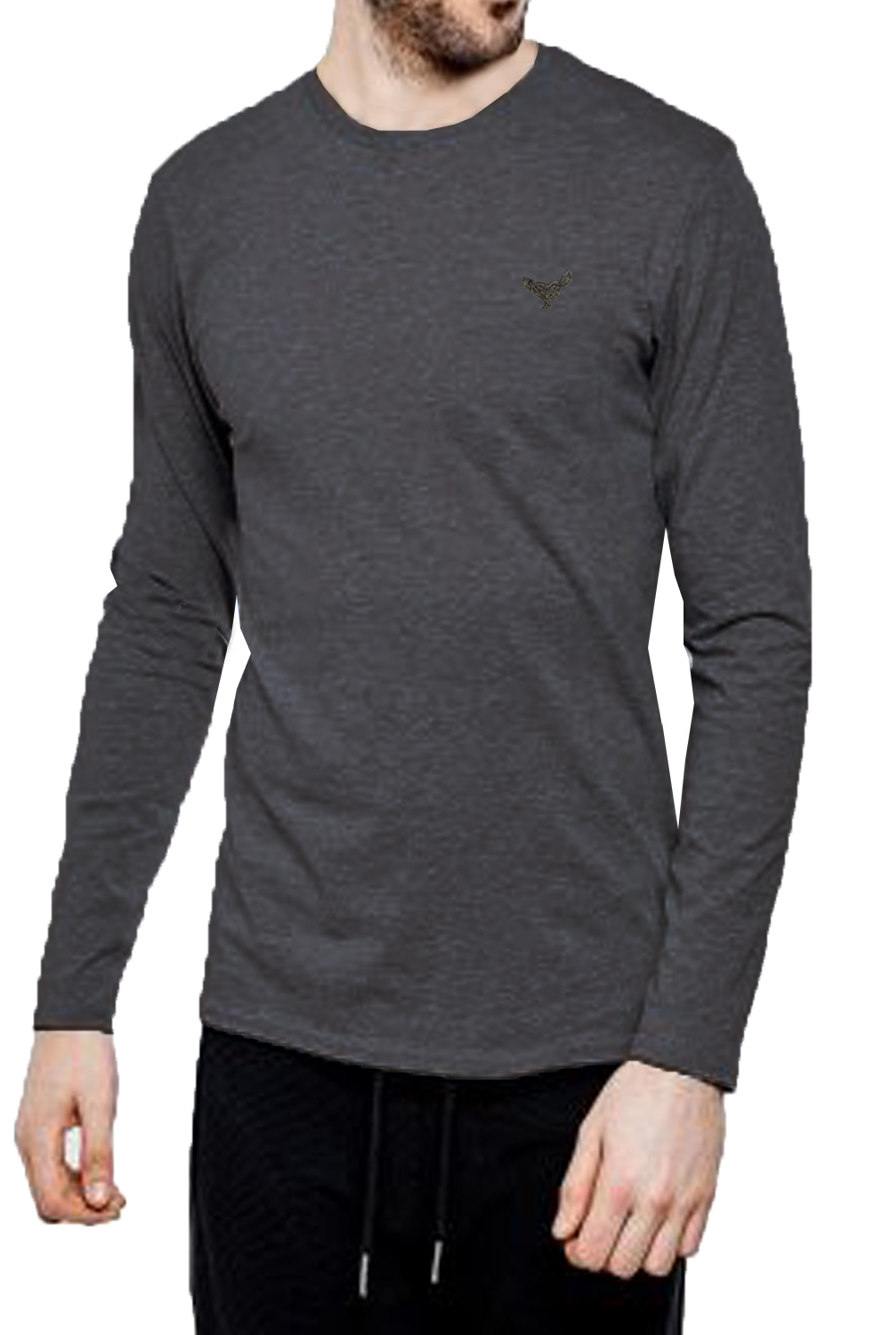 Threadbare-Mens-William-Long-Sleeve-T-Shirt-Cotton-Stretch-Round-Neck-Winter-Top thumbnail 9