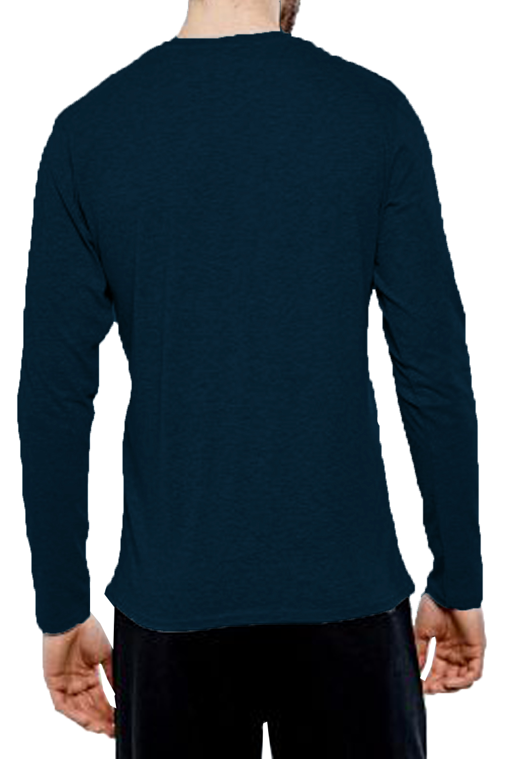 Threadbare-Mens-William-Long-Sleeve-T-Shirt-Cotton-Stretch-Round-Neck-Winter-Top thumbnail 7