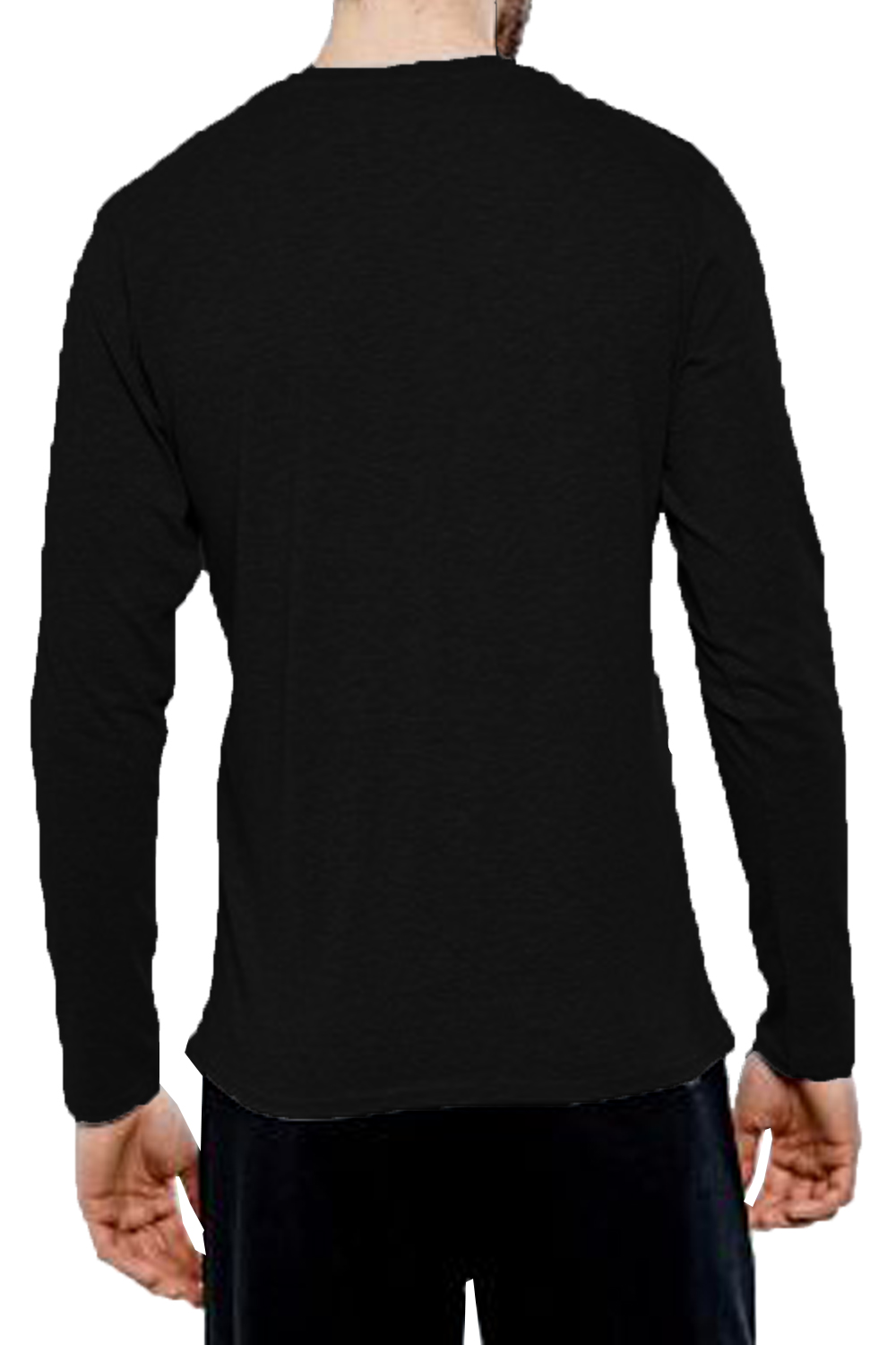 Threadbare-Mens-William-Long-Sleeve-T-Shirt-Cotton-Stretch-Round-Neck-Winter-Top thumbnail 4