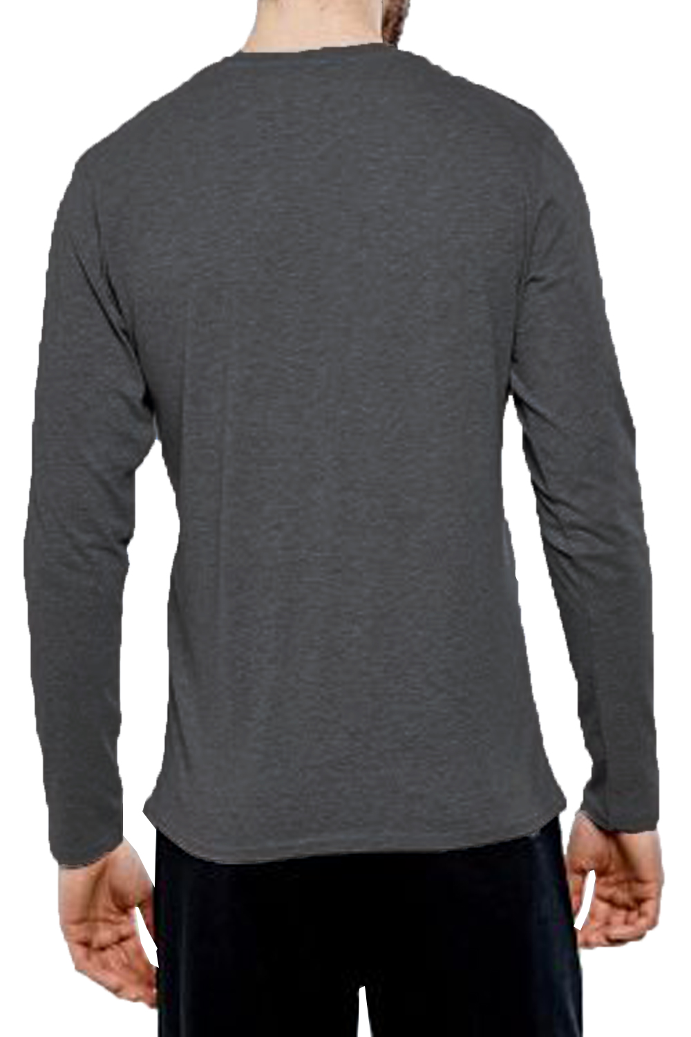Threadbare-Mens-William-Long-Sleeve-T-Shirt-Cotton-Stretch-Round-Neck-Winter-Top thumbnail 10