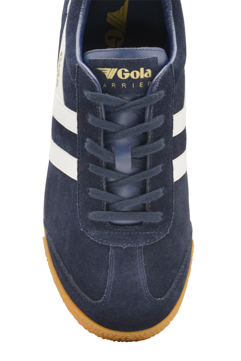 Gola-Harrier-Suede-Classic-Vintage-Lace-Up-Sneakers-Mens-Trainers-Low-Top-Shoes thumbnail 3