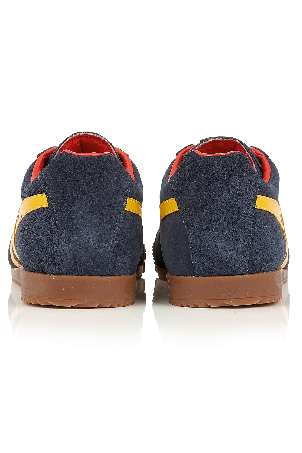 Gola-Harrier-Suede-Classic-Vintage-Lace-Up-Sneakers-Mens-Trainers-Low-Top-Shoes thumbnail 14